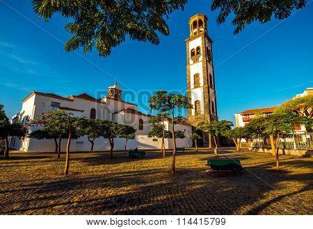 Church in Santa Cruz old town