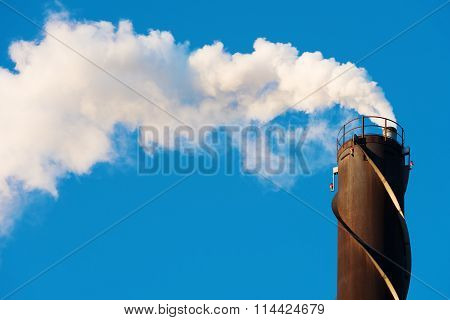 Smoke From Chimney