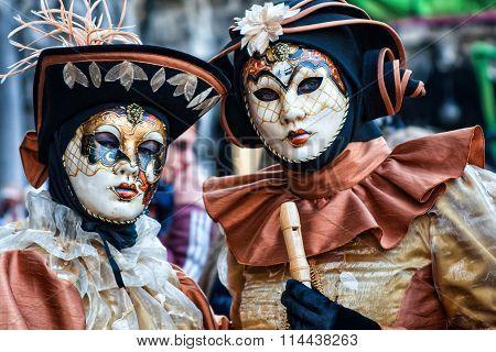 Carnival Masks of Venice Carnival