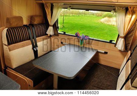 RV (camper, motorhome, caravan) interior