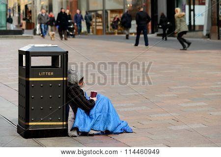 Beggar In Glasgow