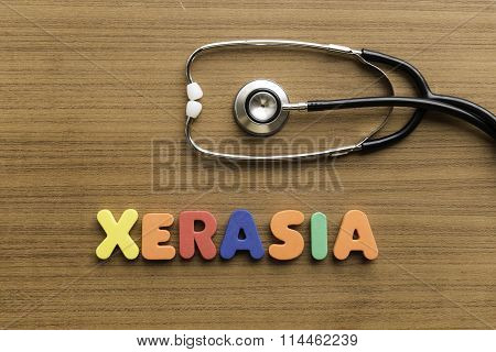 Xerasia Colorful Word