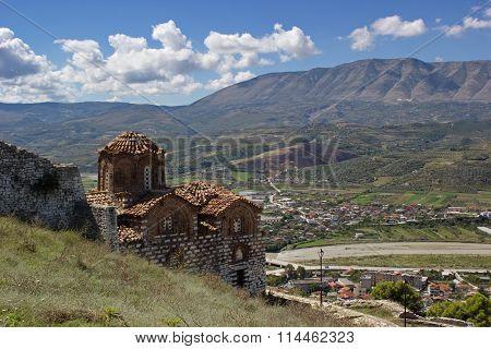 church of Holy Trinity, Berat fortress, Albania