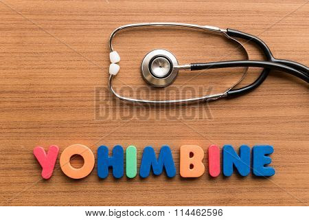 Yohimabine Colorful Word