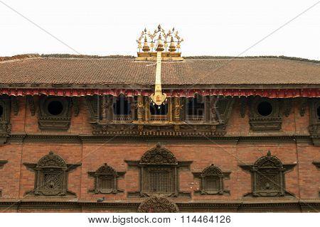 Kumari Bahal in Durbar square Kathmandu Nepal