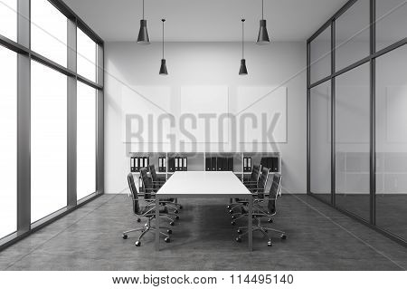 Spacious Empty Meeting Room