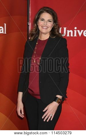 LOS ANGELES - JAN 14:  Elizabeth Blau at the NBCUniversal Cable TCA Press Day Winter 2016 at the Langham Huntington Hotel on January 14, 2016 in Pasadena, CA