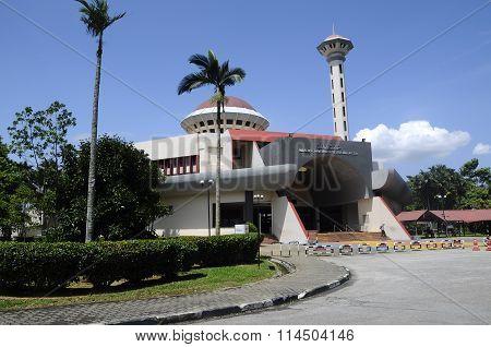Malaysia Putra University Mosque or Masjid UPM at Serdang, Selangor, Malaysia