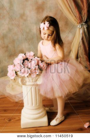 Kleine Ballerina schoonheid