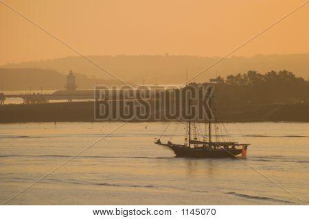 Casco Bay Schooner
