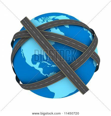 Roads on Earth