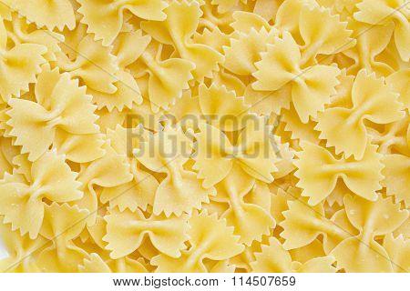 Orgnic wheat durum Italian pasta - background.