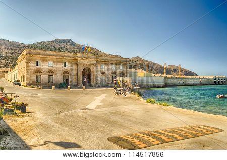 Ancient Tuna Fishery In Favignana Island, Italy
