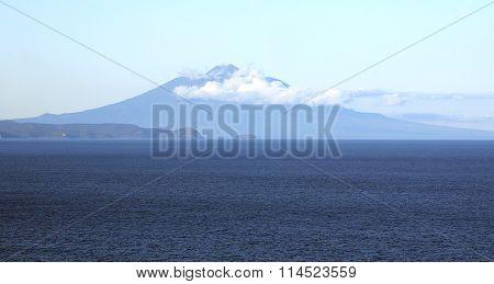 Vulcanic Tyatya, island Kunashir