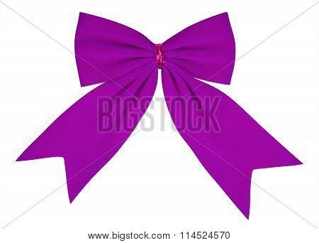 Velvet Bow - Violet