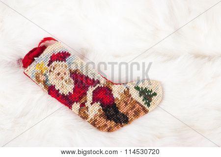 Christmas Cross Stitch Stocking