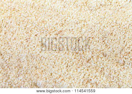 Durum Wheat Semolina Flour Close Up