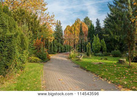Cemetery in the Altona district of Hamburg