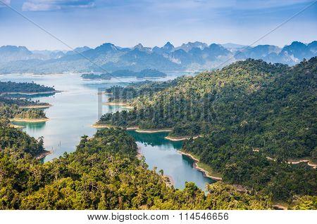 Khao sok national park at suratthani,Thailand