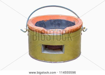 Charcoal stove for traditional cooking thai style