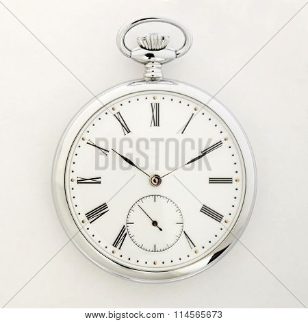 Pocket Watch, Old Style Marks The Passage Of Time