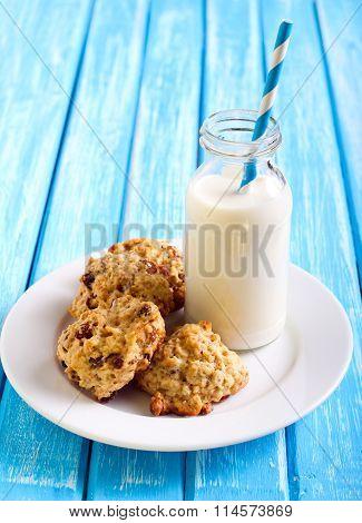 Oatmeal Applesauce Cookies