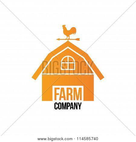 Farm Company Logo - Isolated Vector Illustration