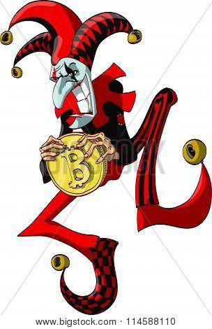 Mad Bitcoin Joker