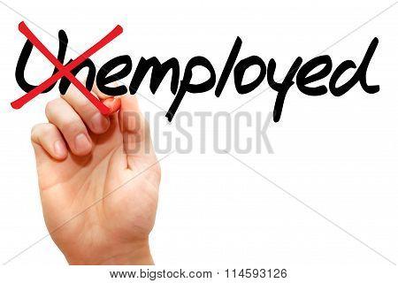 Turning The Word Unemployed Into Employed
