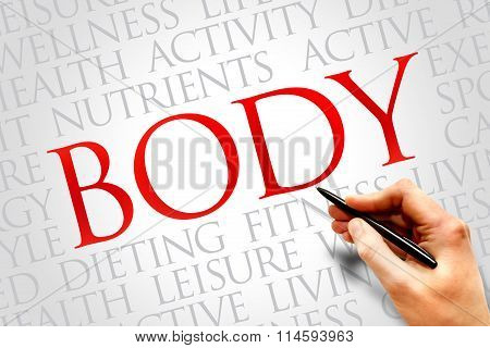 Body Word Cloud