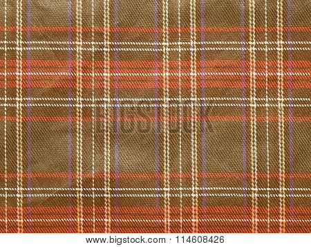 Retro Looking Tartan Background
