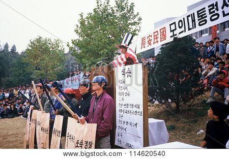 Political Demonstration