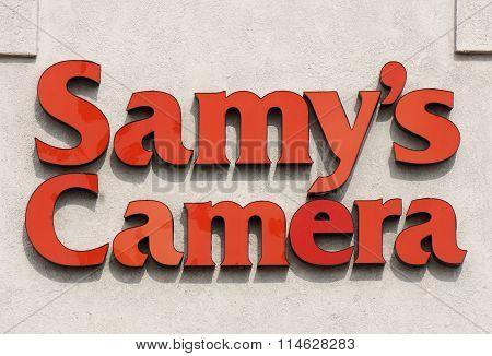 Samy's Camera Store Exterior And Logo