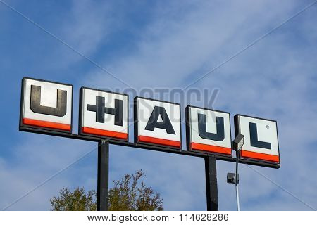 U-haul Sign And Logo