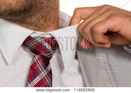 man blows his top