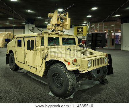 2016: AM General HMMWV (humvee)