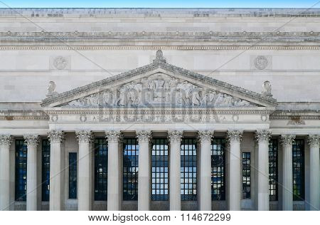 National Archives Building Facade