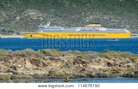 sardiniaferris ferry in Sardinia