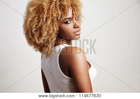 Black Woman Watching Back