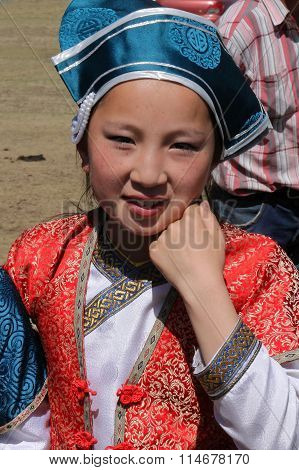 Young Dancer Girl
