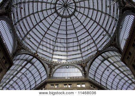 Galleria Umberto in Naples (Italy)