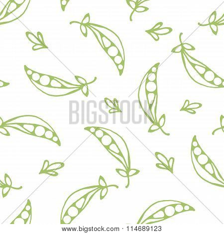 Green Colored Peas
