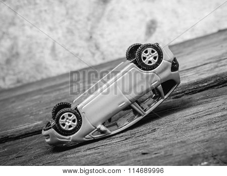 Toy Car Accident