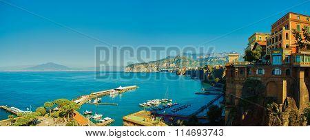 Sorrento, Italy. European resort.