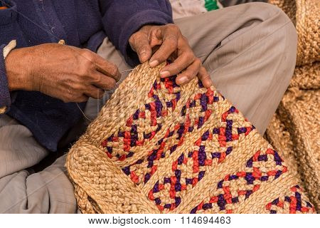 Jute Artisan At Work