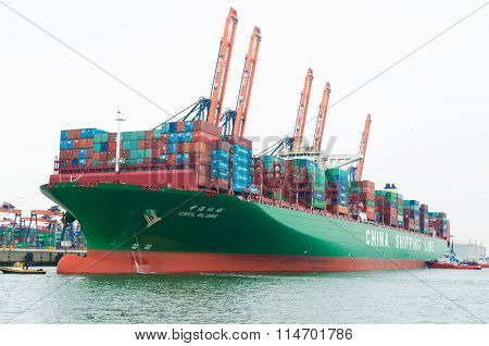 Large Container Ship