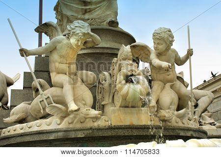 Hellenistic Style Of Parliament In Vienna, Austria