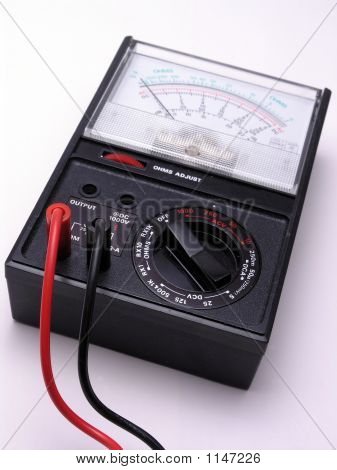Volt Meter With Cables