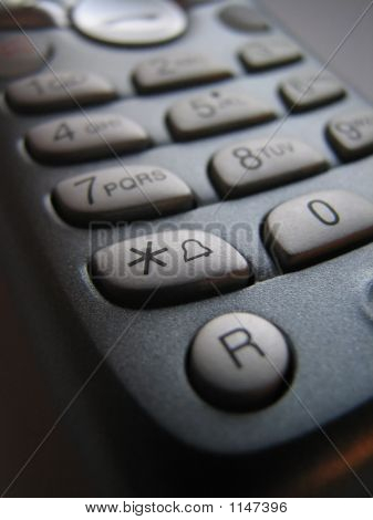 Phone Keypad *(Asterisk)Or Star