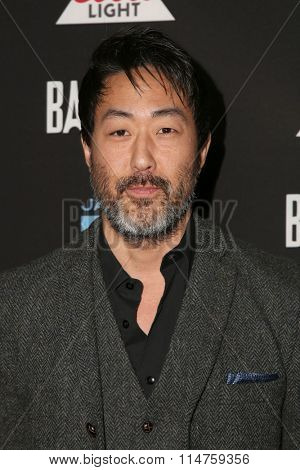 vLOS ANGELES - JAN 14:  Kenneth Choi at the Baskets Red Carpet Event at the Pacific Design Center on January 14, 2016 in West Hollywood, CA